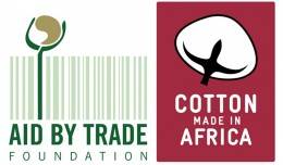 Aid by Trade Foundation, Cotton Made in Africa, Logo, Kleiner Weissrand, SEADiaspora