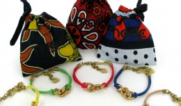 Made FF Bracelets with Kanga pouches