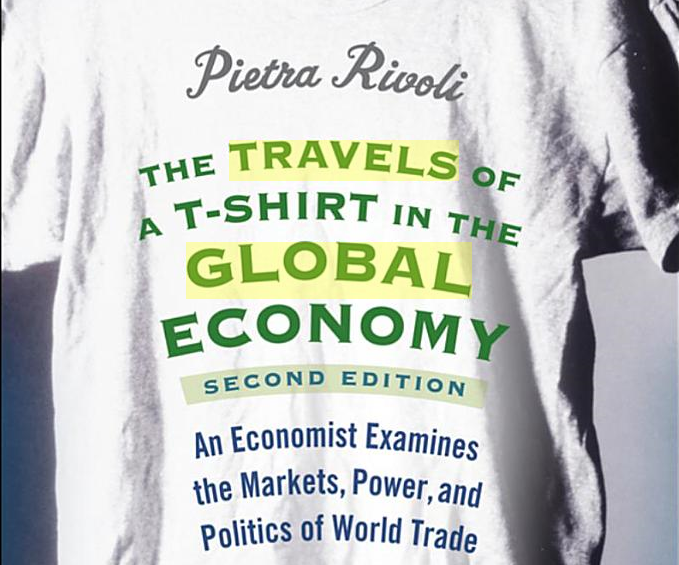 the travels of a t shirt in the global economy book