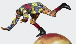Yinka Shonibare - Boy on Globe 4 (detail)