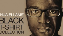 Inua Ellams black t shirt collection