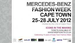 Mercedes Benz Fashion Week CapeTown 2012