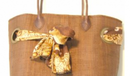 Bag Hand Made from palm leaves, made in Madagascar - Ethnic Supplies