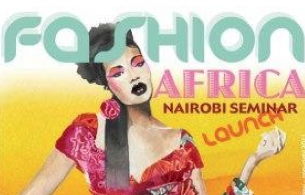 Fashion Africa Seminar Nairobi flyer - AFG