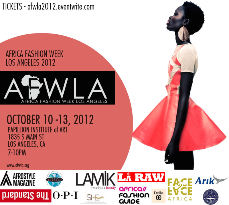 Africa Fashion Week Los Angeles Signs On Additional Sponsors And Official Presentation Schedule Africa Fashion Guide
