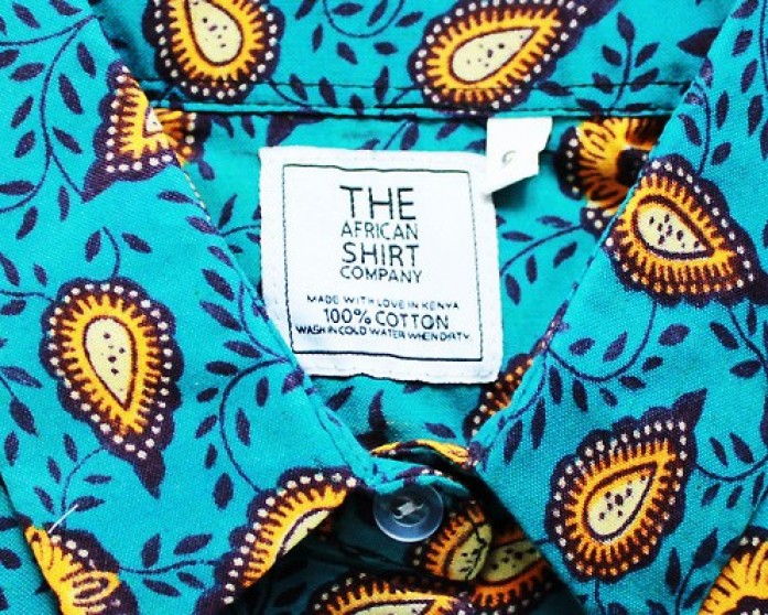 PAISLEY PATTERN - The African Shirt Company - Image Copyright African Shirt Company