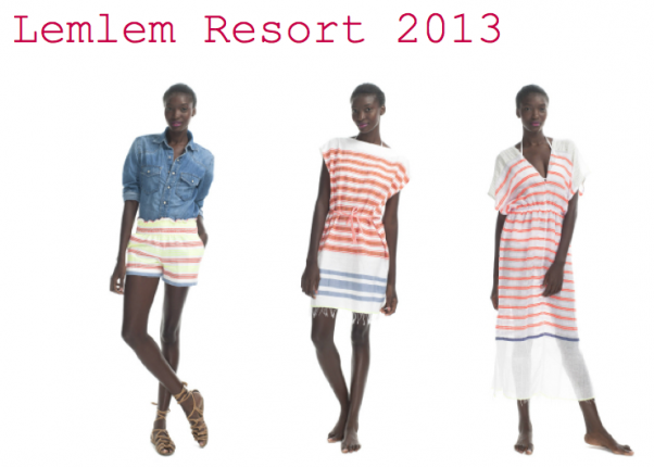 Lemlem SS13 Resort Collection