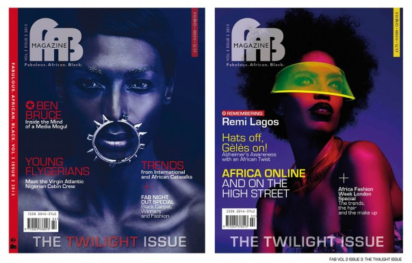 FAB COVERS-THE TWILIGHT ISSUE