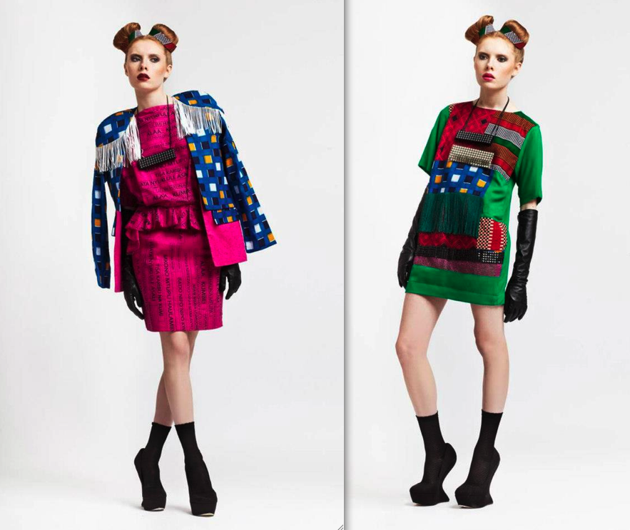 Dressing Up With Chichia London Aw13 Collection Project Gauni The Dress Concept Africa Fashion Guide