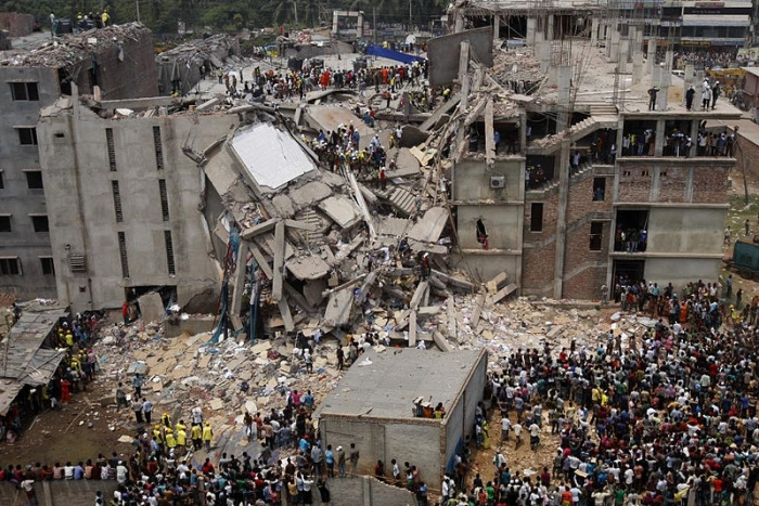 Dhaka Savar Building Collapse. Photography by rijans