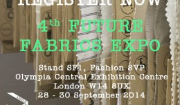 'FUTURE FABRICS EXPO' London 2011