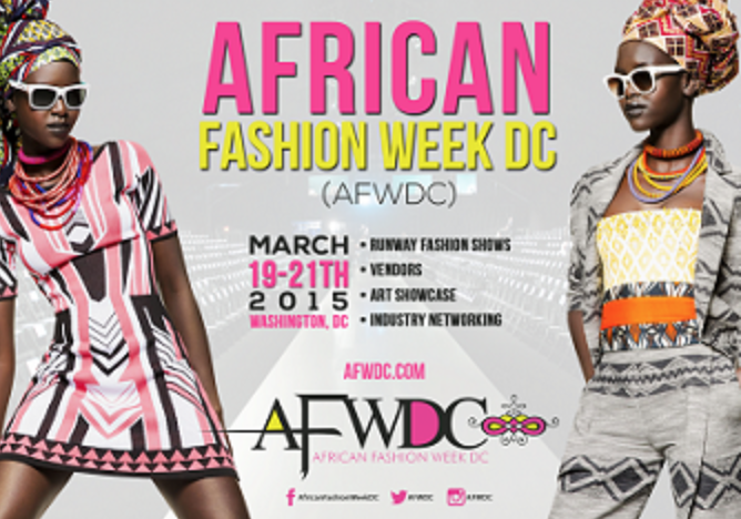 African Fashion Week Dc 19 21 March 2015 Africa Fashion Guide