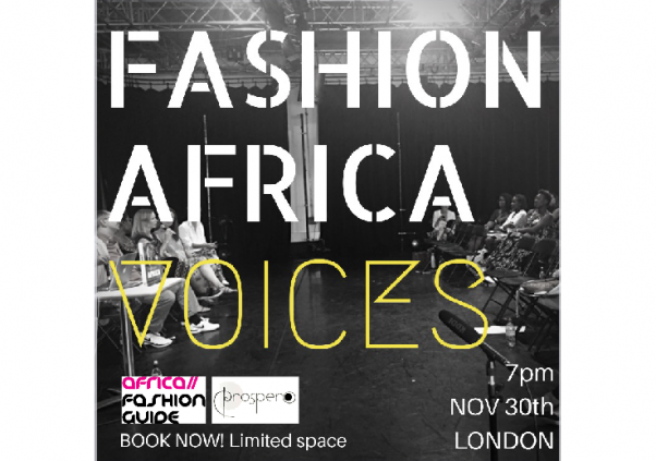 Fashion Africa Voices Nov