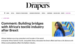 Africa Fashion Guide | A social enterprise promoting sustainability